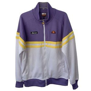 ELLESSE Track Jacket XL Men's NWT Purple Zip Up